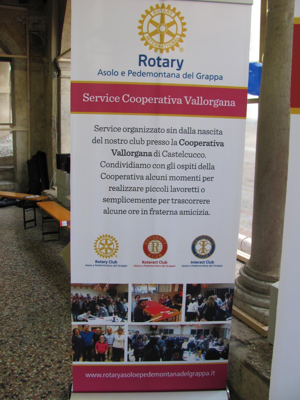 Sito Rotary Asolo manifesto